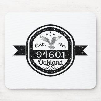 Established In 94601 Oakland Mouse Pad