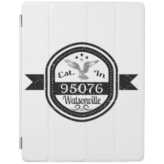 Established In 95076 Watsonville iPad Cover