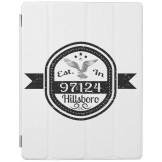 Established In 97124 Hillsboro iPad Cover