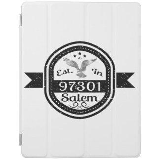 Established In 97301 Salem iPad Cover