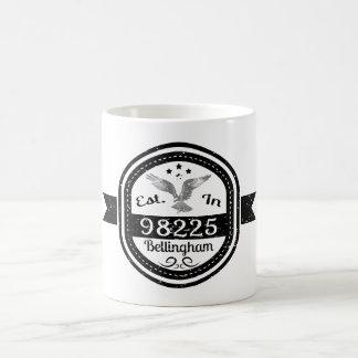 Established In 98225 Bellingham Coffee Mug