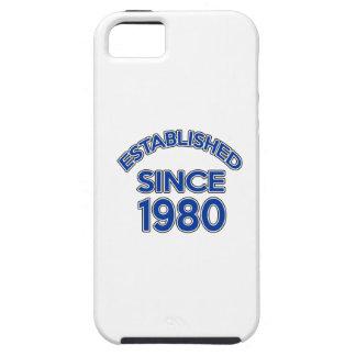 Established Since 1980 Tough iPhone 5 Case