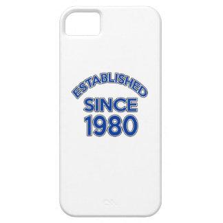 Established Since 1980 iPhone 5 Case