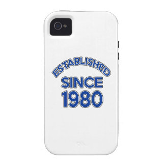 Established Since 1980 iPhone 4/4S Cover
