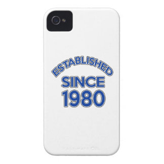 Established Since 1980 iPhone 4 Covers