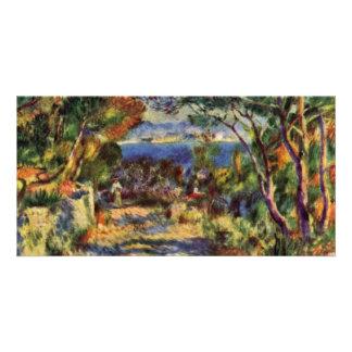 Estaque By Pierre-Auguste Renoir (Best Quality) Personalized Photo Card