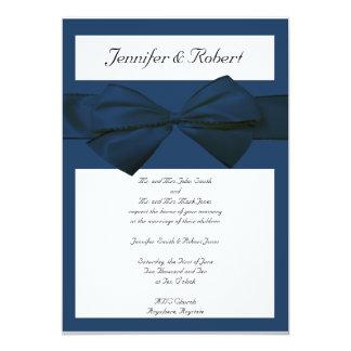 Estate Collection Marine Blue Wedding Invitation
