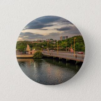 Estero Salado River Guayaquil Ecuador 6 Cm Round Badge