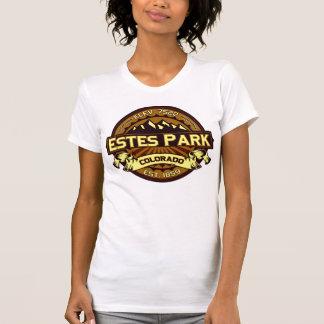 Estes Park Color Logo Intense Brown T-Shirt