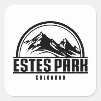 Estes Park Colorado Square Sticker
