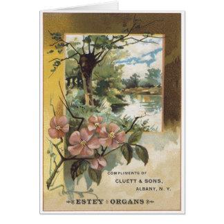 Estey Organs Greeting Card