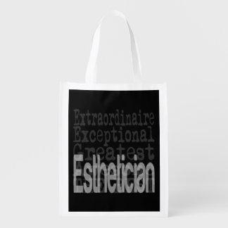 Esthetician Extraordinaire Reusable Grocery Bag