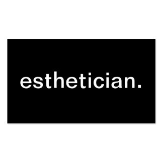 Esthetician Pack Of Standard Business Cards