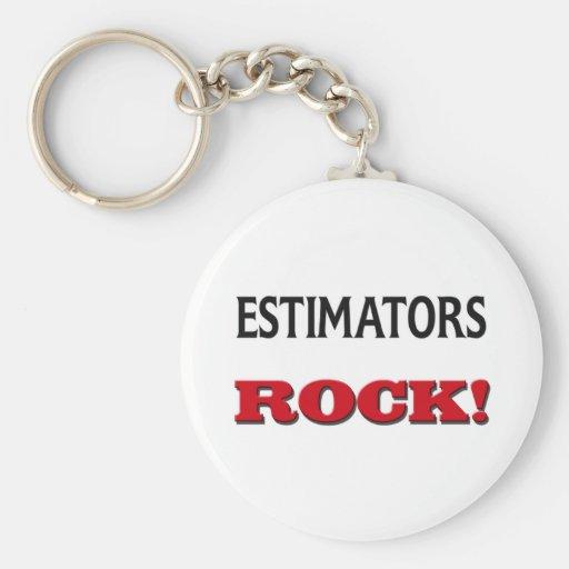 Estimators Rock Key Chains
