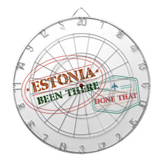 Estonia Been There Done That Dartboard