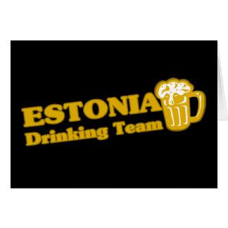 ESTONIA GREETING CARD