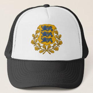 Estonia Coat Of Arms Trucker Hat