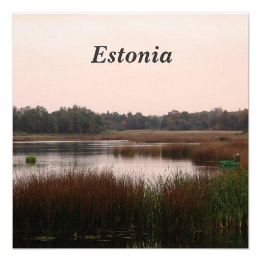 Estonia Countryside Invitations