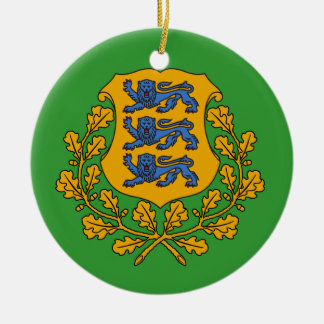 ESTONIA* Custom Christmas Ornament
