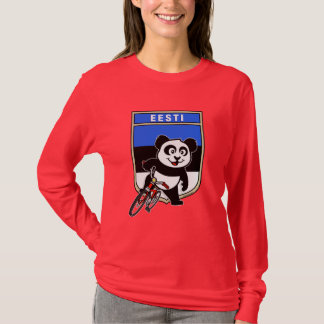 Estonia Cycling Panda T-Shirt