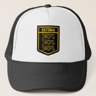 Estonia Emblem Trucker Hat