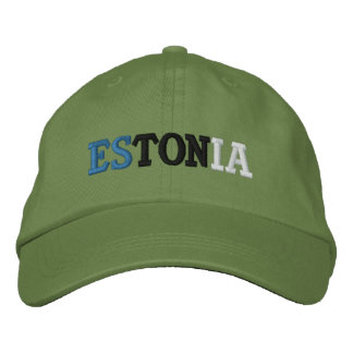 Estonia Embroidered Hat