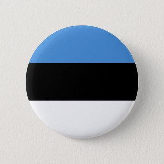 Estonia Flag 6 Cm Round Badge