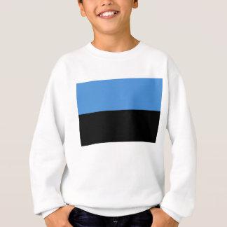 Estonia flag all over design sweatshirt