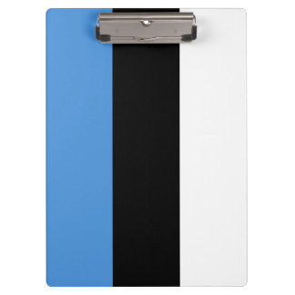 Estonia Flag Clipboard