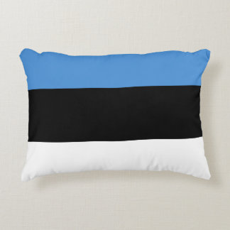 Estonia Flag Decorative Cushion