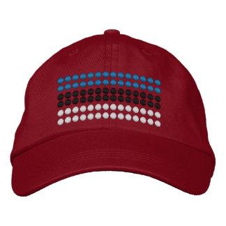 Estonia Flag Embroidered Hat