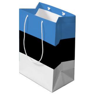 Estonia Flag Medium Gift Bag