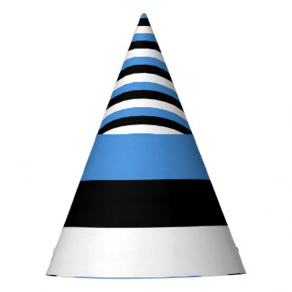 Estonia Flag Party Hat
