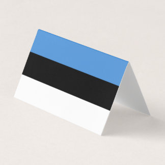 Estonia Flag Place Card