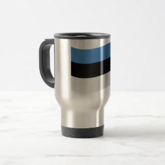 Estonia Flag Travel Mug