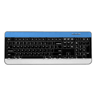 Estonia Flag Wireless Keyboard
