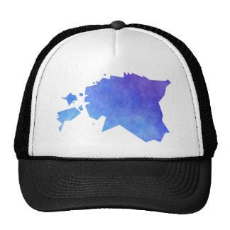 Estonia Map Cap