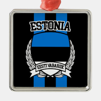 Estonia Metal Ornament