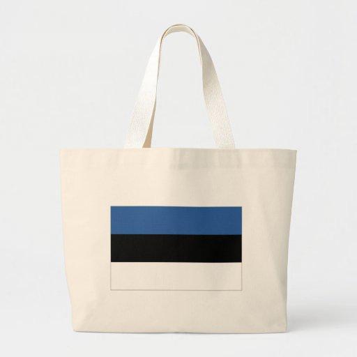 Estonia National Flag Bags