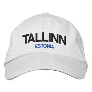 Estonia Tallinn Personalized Adjustable Hat