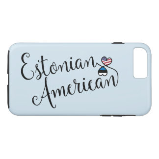 Estonian American Entwined Hearts Cell Phone Case