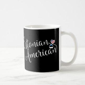 Estonian American Entwined Hearts Mug