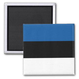 Estonian Flag Square Magnet