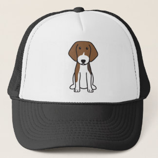 Estonian Hound Dog Cartoon Trucker Hat