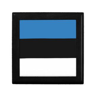 Estonian or Flag of Estonia Gift Box
