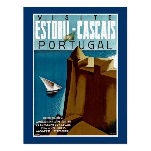 Estoril - Cascais Portugal Post Cards