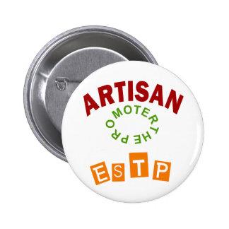 ESTP the Artisan personality type Pin