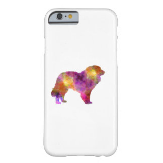 Estrela Mountain Dog in watercolor Barely There iPhone 6 Case