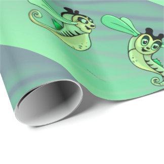 ESTRELLES CUTE ALIENS CARTOON Wrapping Paper