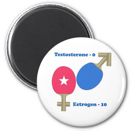 Estrogen Ping Pong Magnet